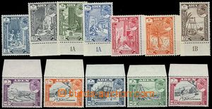 72959 - 1963 HADHRAMAUT  complete set 12 pcs of stamp. SG.41-52, fro