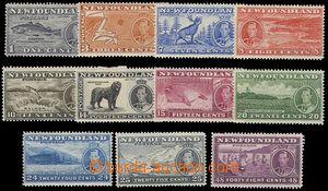 73028 - 1937 complete set 11 pcs of stamp. Mi.221-231A, mint never h