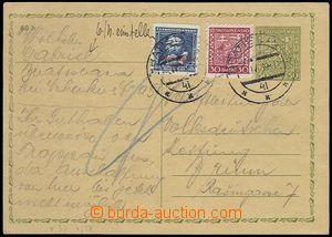 73032 - 1939 čs. dopisnice CDV49 zaslaná do ČaM, dofr. čs. zn. P