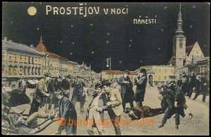 73050 - 1910 PROSTĚJOV (Prossnitz) - color collage, Prostějov at n