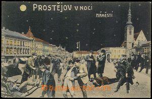 73050 - 1910 PROSTĚJOV (Prossnitz) - barevná koláž, Prostějov v