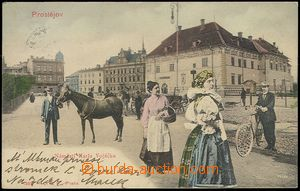 73053 - 1903 PROSTĚJOV - color collage, Hannakwomen and Hannaks in