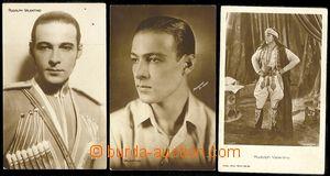 73094 - 1920 VALENTINO Rudolph (1895–1926), italský herec, sexuá