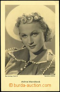 73098 - 1935 MANDLOVÁ Adina (1910–1991), Czech movie actress, Un
