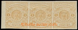 73114 - 1859 Mi.3, Coat of arms in circle, horizontal strip of 3, wi