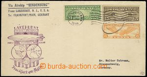 73150 - 1936 USA  letter to Frankfurt, CDS NEW YORK MAY.11/1936, cac