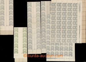 73172 - 1945 Mi.81-86, 87-88, Soviet Star, interesting comp. of stam