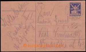 73187 - 1920 CPO1, Osvobozená republika 140h, skutečně prošlá p