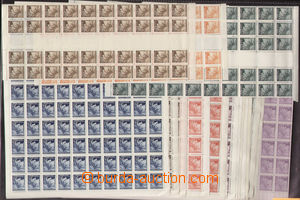 73197 - 1939 Pof.20-27, 54-56 2x, Linden Leaves, 2x selection of com