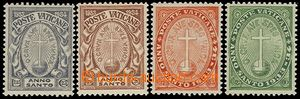 73238 - 1933 Mi.17-20, Holy Year of Salvation, complete set of, c.v.