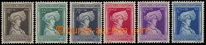 73240 - 1936 Mi.296-301, Wenceslas I., complete set, mint never hing