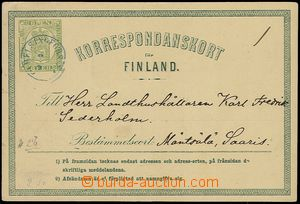 73248 - 1872 PC Mi.P1 III., strong cardboard paper, addressed to to