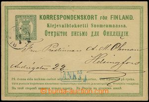 73249 - 1875 PC Mi.P5, trilingual, thin/light cream paper, CDS KUOPI