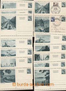 73261 - 1939 CDV6/ 1-12, Promotional, clear complete set of, inserte