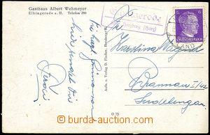 73280 - 1942 GERMANY  poštovna ELBIGENRODE, DR HERZBERG/ 15.4.42, z