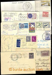 73376 - 1900-68 SPORT  sestava 10ks celistvostí (9ks pohlednic) z o