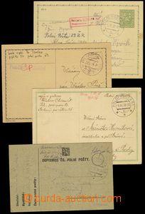 73399 - 1938 sestava 3ks dopisnic PP + CDV65,  DR PP č.29a/ 6.X.38,