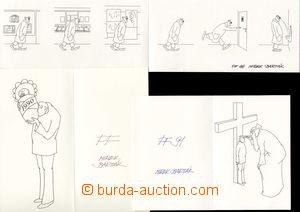 73408 - 1982-91 BARTÁK Miroslav (*1938), kreslíř, karikaturista, ill