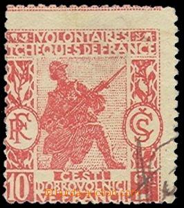 73449 - 1918 ČEŠTÍ DOBROVOLNÍCI VE FRANCII   Surtax 10Ct + 2Ct,