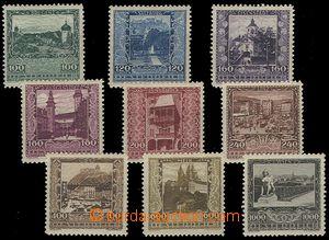 73467 - 1923 Mi.433-441, Provincial Capitals, c.v.. 100€