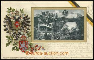 73525 - 1907 ČESKO-SASKÉ ŠVÝCARSKO - Pravčická brána (Prebisc