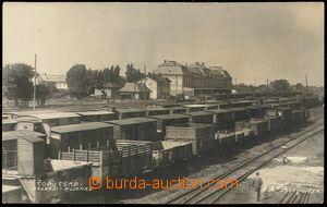 73529 - 1930 ČOP (Csap / Чоп) - nádraží, kolej
