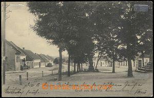 73530 - 1919 MODŘICE - village square, Kaiser Joseph Platz (Square)