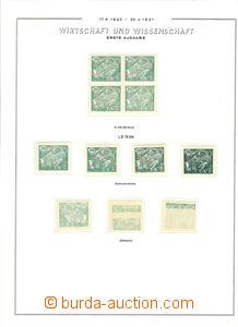 73566 - 1920 ČSR I. / HaV  Pof.164-169, studijní sestava, obsahuje