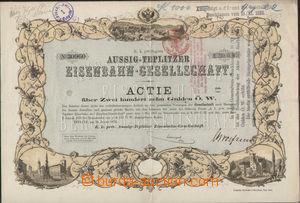 73623 - 1874 AUSTRIA-HUNGARY  share Ústecko-teplické railway compa
