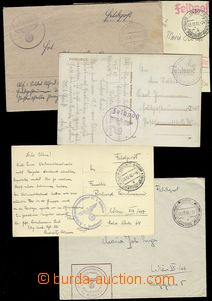 73735 - 1939-41 comp. 5 pcs of entires FP Us official post Olomouc,