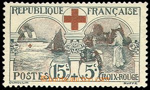 73756 - 1918 Mi.136, Red Cross, mint never hinged, c.v.. 150€