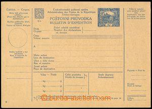 73770 - 1920 CPP14a, mezinárodní průvodka, hnědorůžový kartó