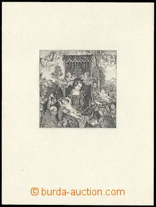 73826 - 1968 PT4N, Růžencová slavnost, nevydaný PT, černý, sv�
