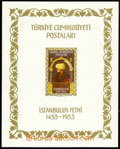 73845 - 1953 Mi.1360 (Block 5) Výročí Istanbulu, pěkná kvalita, kat.