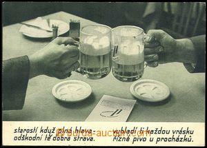 73853 - 1939 PIVOVARY  Procházkovy plzeňské restaurace, VF, proš