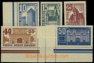 73907 - 1936 Mi.262-266, Winter relief, complete set of, Mi.265 and