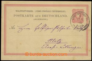 73911 - 1884 PC Mi.P8 I. without overprint, CDS CONSTANTINOPLE/ Deut