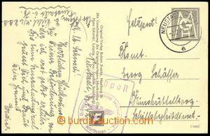 73917 - 1942 pohlednice s pseudoznámkou MGH, DR NEUSTADT (Hols)/ 2.