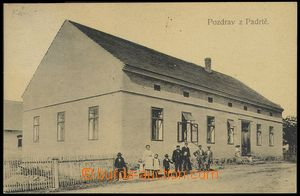 74035 - 1912 PADRŤ - vanished village, now militar disctrict,  B/W