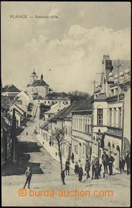 74036 - 1931 PLÁNICE - Kotalova road,  B/W, in background church, i