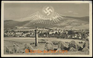 74047 - 1938 ŠUMPERK (Mähr. Schönberg.) - collage with swastika a