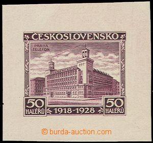 74170 - 1928 Pof.235, Jubilejní 50h, otisk původní rytiny ve fial