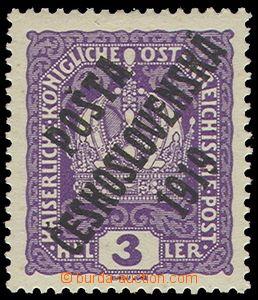 74301 -  Pof.33x, Crown 3h, thick paper, nice quality, c.v.. 250CZK