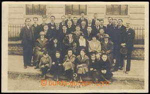 74346 - 1923 TIŠNOV - joined photo members club/association ALFA-OM