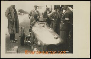 74377 - 1933 MOTORSPORT, Brno Circuit, racer V. Marret in/at car, ph