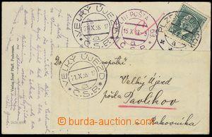 74430 - 1938 pohlednice zaslaná na posádkové velitelství, adres�