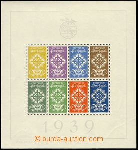 74458 - 1939 Mi.Bl.1, miniature sheet Legion, c.v.. 900€