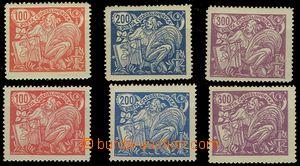 74474 -  Pof.173-175A+B, typy :  č.173A/II., 174A/II., 175A/I., 173B