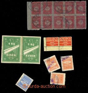 74475 - 1930-45 CZECHOSLOVAKIA, BOHEMIA-MORAVIA,  selection of 18  p