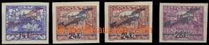 74483 - 1920 Pof.L1-3,  the first issue., No. L2 both spiral types,
